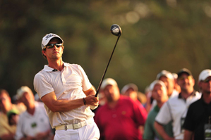 Adam Scott was one of several Australians with a shot at the green jacket.