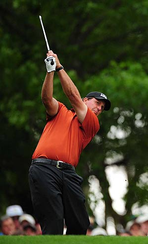 """""""I didn't play very well, and it was a day where there were some low scores out there,"""" Mickelson said."""