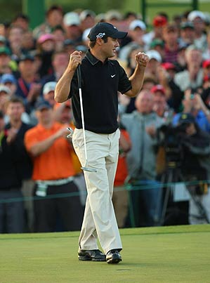 Immelman handled the pressure that wrecked everyone else, including Tiger.