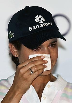 Lorena Ochoa will play next week before she steps away from golf.