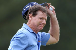 Tom Watson finished T18 at the Masters.