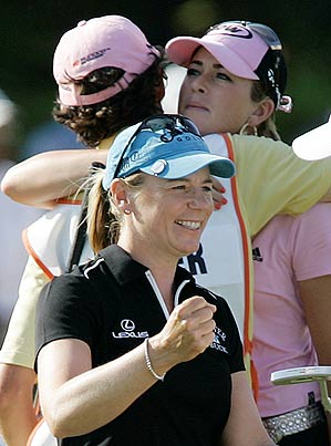 This was Sorenstam's 71st career victory on the LPGA Tour.