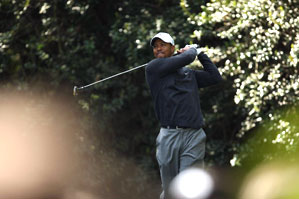 Tiger Woods tees off at 7:40 a.m. Thursday.