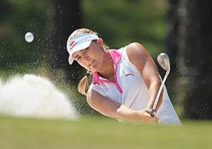 Alexis Thompson made six birdies and one bogey on Saturday.