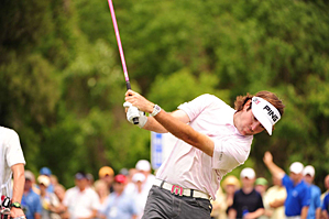 Bubba Watson is trying to win for the second time this season.