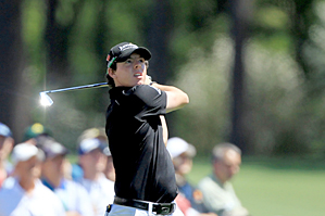 Rory McIlroy made seven birdies and no bogeys on Thursday.