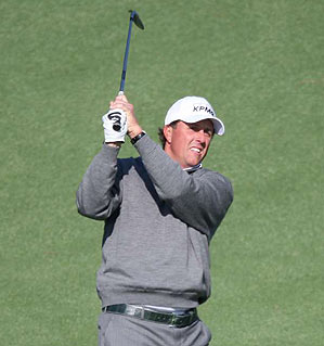 Mickelson has won the Masters twice in his career.