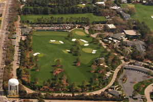 "The new driving range at Augusta National has been a hit with players this week.<br />• <a href=""http://www.golf.com/golf/gallery/article/0,28242,1977643-1,00.html""><strong>Range details and more aerial photos</strong></a>"