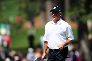 Fred Couples was mentored by Tom Watson early in his career.