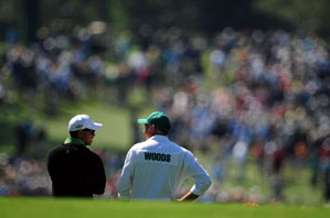 Tiger Woods, with his caddie Steve Williams, hasn't missed a step in his comeback.