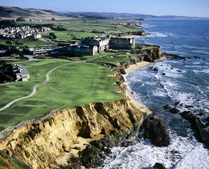 The Ritz Carlton at Half Moon Bay.