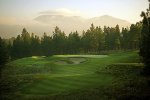 The scenic 17th at Pine Canyon.