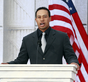 Tiger Woods' Foundation has given an estimated $30,000,000 to communities through grants, scholarships and the Tiger Woods Learning Center.