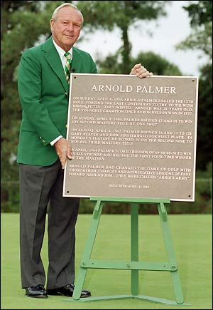 The second of Arnold Palmer's four Masters titles will be featured as the lead-in to this year's final-round coverage from Augusta.