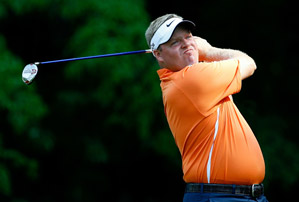 Carl Pettersson shot a tournament record 61 on Friday.