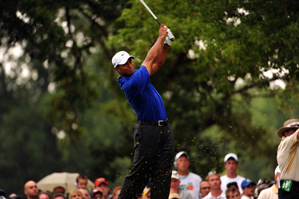Tiger Woods made two birdies and one bogey on Saturday.