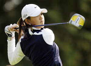 """""""It's frustrating to see my score was high when I don't feel I played that bad,"""" said Michelle Wie."""