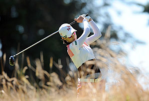 Na Yeon Choi made three birdies and one bogey on Saturday.