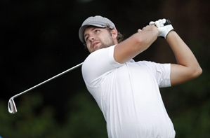 Ryan Moore made six birdies and a bogey on Friday.