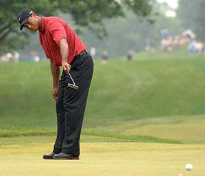 Woods won the Deutsche Bank at TPC Boston in 2006.