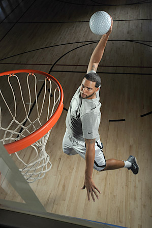 Deron Williams, 27, plays point guard for the New Jersey Nets and is a two-time NBA All-Star.