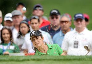 Lorena Ochoa is seeking her third straight win.