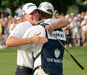 This was Stricker's first victory since 2001.
