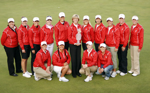 The 2009 U.S. Solheim Cup team will compete against Europe Aug. 21-23 at Sugar Grove, Illinois.