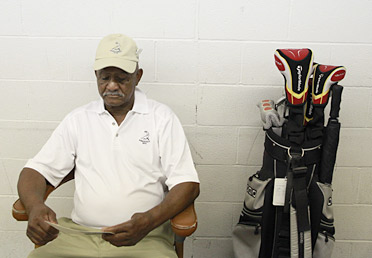 LIVING HISTORY: Pinehurst looper Willie Lee McRae wears the honors and scars of life quietly. In May he marked 68 years at the resort.