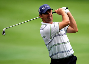 Padraig Harrington made five birdies and two bogeys on Saturday.