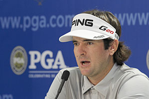 Bubba Watson lost the 2010 PGA in a playoff.