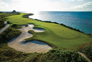 The Greg Norman-designed course at Great Exuma in the Bahamas.