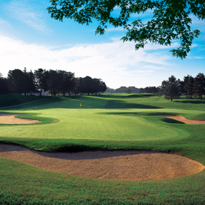 The 17th at Glen Abbey, site of the 2009 RBC Canadian Open.