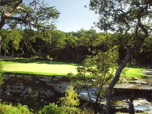 "The 450-yard 10th at Barton Creek's Canyon Course <span class=""picturesource"">Aidan Bradley</span>"
