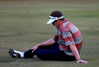 Charlie Beljan was taken to the hospital after his round on Friday.