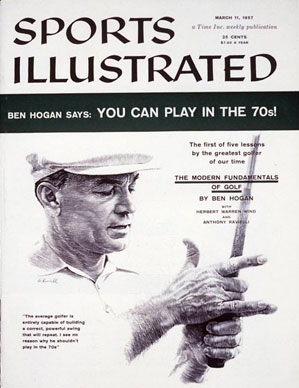 Ben Hogan's series in Sports Illustrated became a classic of golf instruction.