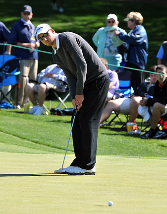 Bigley made his PGA Tour debut at last year's Wells Fargo Championship (pictured).
