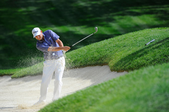 Bill Haas made an eagle, five birdies and two bogeys.
