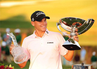 Bill Haas collected a check worth over $11 million by winning the Tour Championship and FedEx Cup at East Lake.