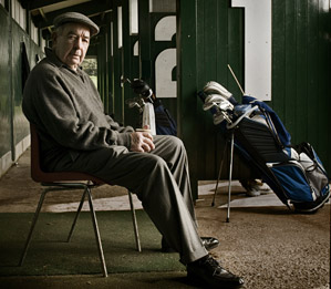 Torrance spends most of his days grooming swings at the Inverclyde practice range in Scotland.