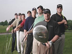 "Meet golf's swat team. <span class=""picturesource"">Mark Kegans</span>"