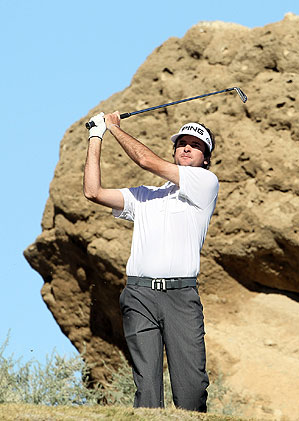 Bubba Watson shot 69 in the fourth round.