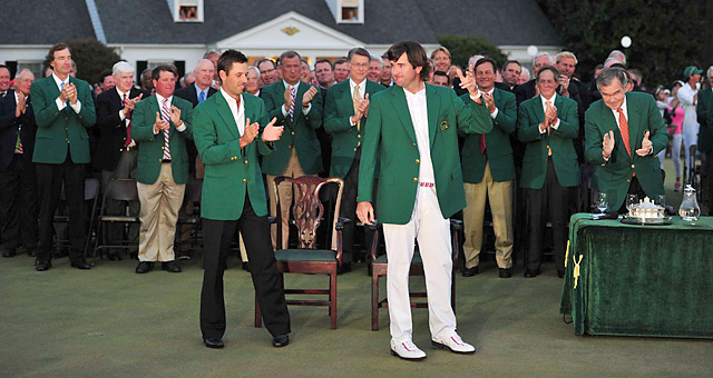 Bubba Watson won the 2012 Masters in a playoff.