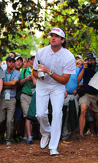 Bubba Watson wowed Augusta patrons and millions of viewers on TV with his amazing hook shot that set up his Masters win.