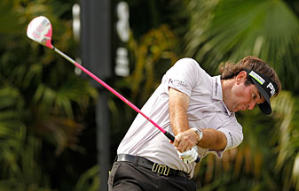 Bubba Watson made an eagle, nine birdies and a bogey.
