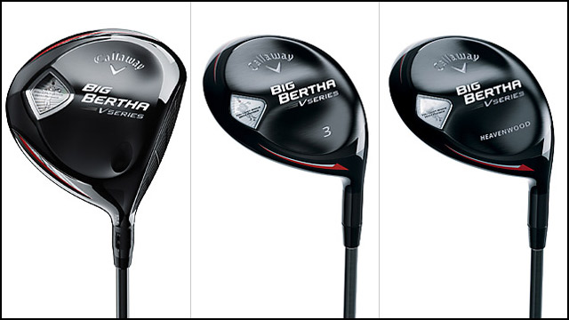 Callaway Big Bertha V Series Driver and Fairway Woods