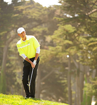 Casey Martin, US Open at Olympic Club, Friday