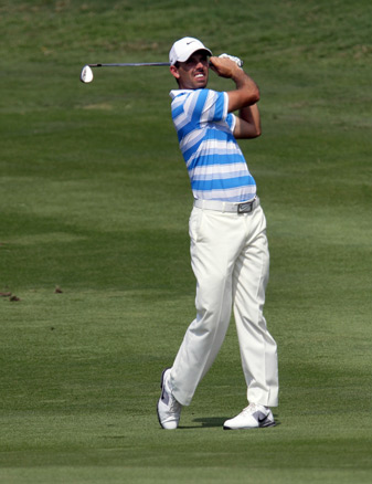Charl Schwartzel is trying to win for the first time since the 2011 Masters.