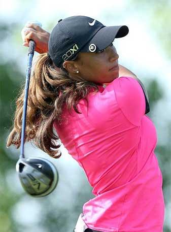 Woods is making her Open debut this week.