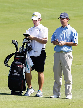 Will Claxton shot a 5-under 66 on Thursday to take the lead.
